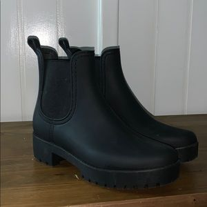 Jefferey Campbell Black Boots